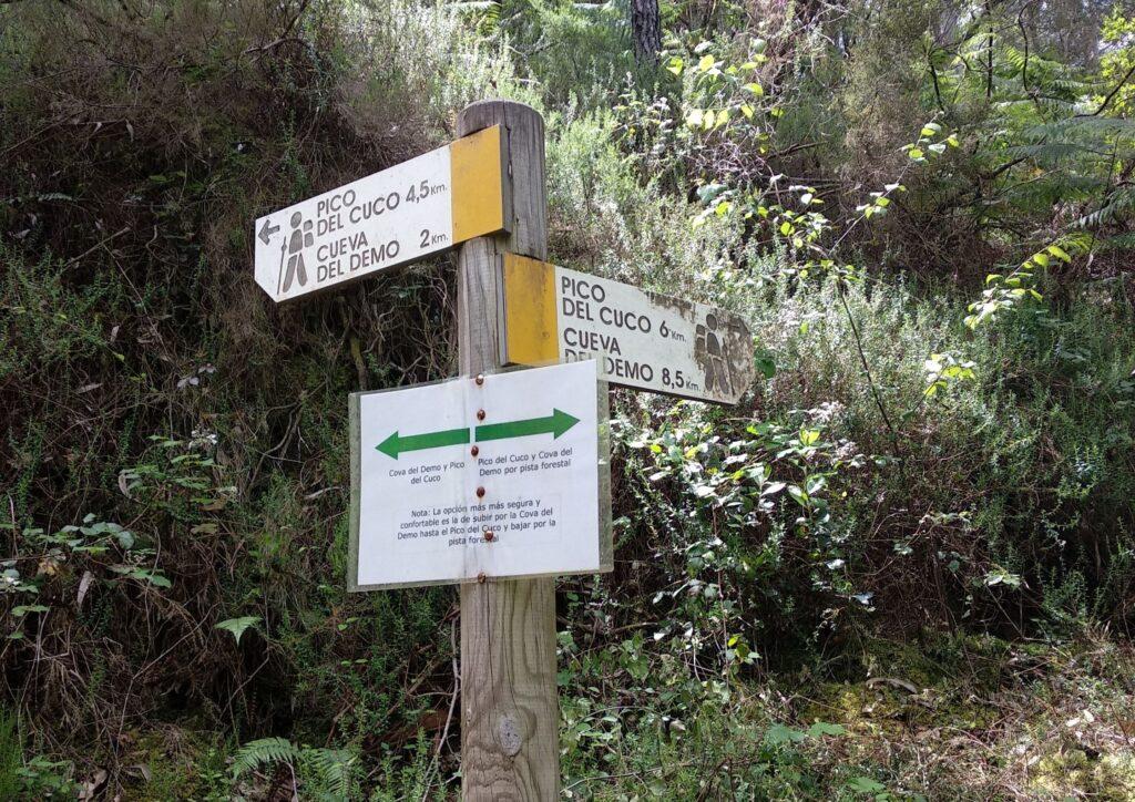 Ruta de la Cova del Demo y Pico del Cuco