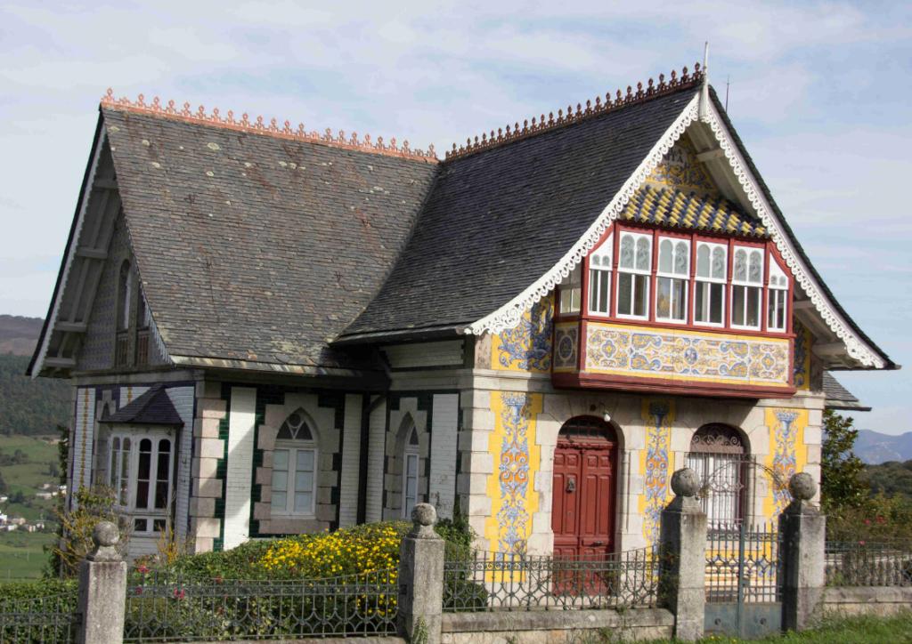 Arquitectura indiana en Boal